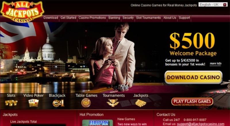 All Jackpots Casino Review & Bonuses