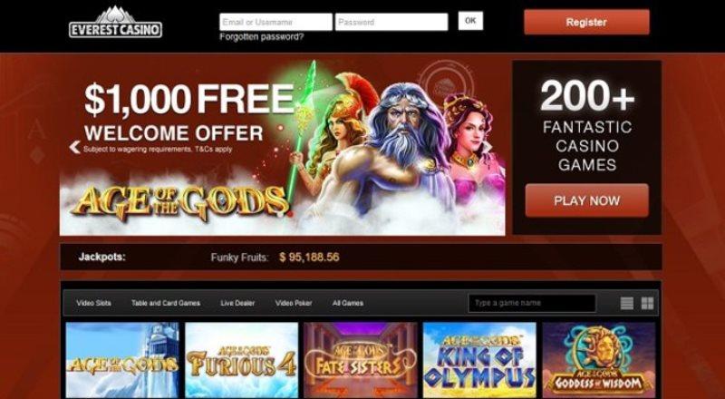 Big Winners Abound in Everest Casino